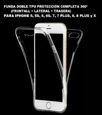 Funda doble 360° Iphone 5- 5s - 6 -6s - 7-8 -6 7plus 8 plus -X -XS- XR - XS Max