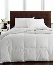 NEW Hotel Collection Light Weight Twin Siberian White Down Comforter $660