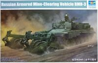 Trumpeter 1:35 Russian BMR-3 Armoured Mine-Clearing Vehicle Model Kit