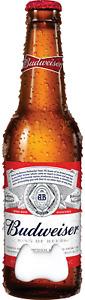 Budweiser Bottle Opener / Bar Blade