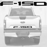 Gloss Black Plastic F-150 Tailgate Insert Decal Letters for 2018 2019 Ford F150
