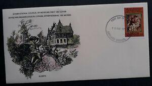 1978 Grenada Peter Paul Rubens Anniv FDC ties 18c Stamp cd Carriacou