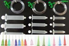 5/10/30CC Syringe SMT SMD PCB Solder Paste Adhesive Glue Dispenser EFD Loctite