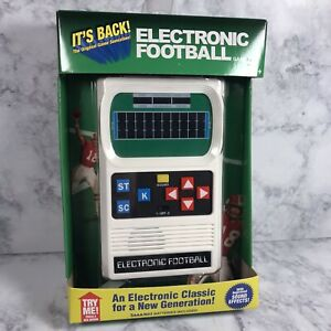 Handheld Electronic Football Retro Game (1970's) Mattel Classic New Sealed