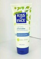 Kiss My Face Olive and Aloe Deep Moisturizing Lotion Fragrance Free 6 Fl oz New