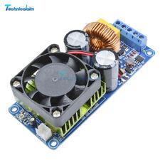 500W Digital IRS2092S Mono Channel Amplifier Class D HIFI Power Amp Board W/ FAN