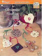 Christmas Cookies   ~  plastic canvas pattern   ~ Needlecraft Shop pattern