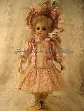 """11"""" FRENCH DOLL DRESS PATTERN VICTORIAN STYLE ~ Lilly"""