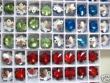 Glass Beads, Shape Crystal Charm Beads, Jewelry 5pc set