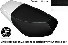 BLACK AND WHITE VINYL CUSTOM FITS CPI OLIVER SPORT 50 DUAL SEAT COVER ONLY