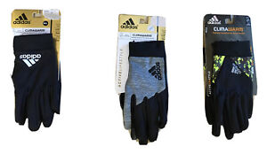 NWT adidas CLIMAWARM gloves Thermal Insulation w/Device Control Tips M/L or L/XL