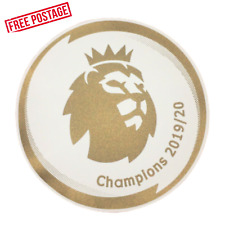 Liverpool premier league champions 19-20 Adult Size Sleeve Patches Arm Badge