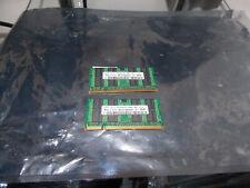 4GB (2x2GB) - SAMSUNG M470T566 - DDR2 - NOTEBOOK SPEICHER  PC6400 - 800Mhz