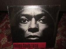 SEALED / MILES DAVIS - TUTU LP ORIGINAL PRESS W/ HYPER STICKER