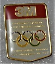 1988 WINTER OLYMPICS CALGARY 3M SPONSOR RINGS Pin Mint