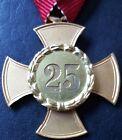 ✚7801✚ Austrian Warrior League cross for 25 years' service post WW2 medal