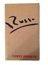 Mario Russo Autoritratto n. 18 - AA.vv. - Carte Segrete - 1974 - Autografato