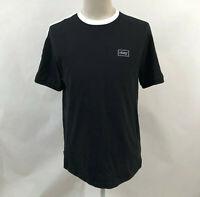 Obey Men's Knit Box T-Shirt Borstal Black/White Size M NEW Shepard Fairey