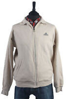 Vintage ADIDAS Windproof Lightweight Coat Jacket Retro Beige Chest 46'' SW1356