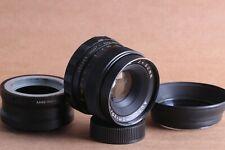 Auto Mamiya Sekor 50mm 1:2 f=50mm Lens M42 Mount + adapter Sony E NEX (E-mount)