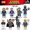 Blocksteine Spielzeug Figur Superheld Thor Iron Man Stan Mini Modell DIY 8PCS