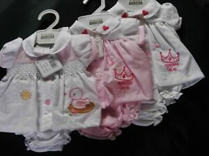 PREMATURE AND 1st SIZE BABY GIRL 2 PIECE SETS(  SOLD SEPERATELY )