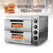 More details for commercial electric double layers pizza oven chicken toasting oven 240v 3000w