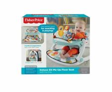 New Fisher Price Sit Me Up Deluxe Floor Seat With Toy Tray Multi Color