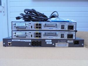 CISCO CCNA CCNP LAB STARTER KIT X2 1841 ROUTERS  SWITCH X1 WS-C2960-48PST-L(PoE)