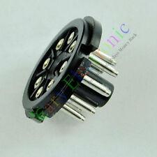 5pc 8Pin Bakelite Tube Socket Plug Base Testing octal EL34 6SN7 KT88 6L6 amp