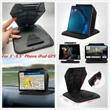 """Car SUV Dashboard Mount Stand Rubber Nonslip Bracket For 3""""-9.5"""" Phone iPad GPS"""