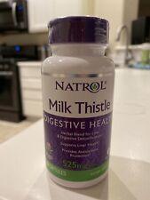Natrol Milk Thistle 525mg Vcaps - 60 Capsules  - Liver Support    Exp: Dec 31/21