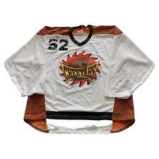 VTG 90s Chicago Cheetahs CCM #52 White Maska Roller Hockey Jersey Men's XL