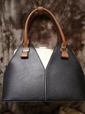 Stunning Dune London Black With Gold Detail Large Handbag Used Once Excellent