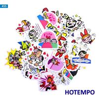 40pcs Powerpuff Girls sticker waterproof graffiti decal