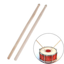 1Pair/2Pcs 32Cm Maple Wood Military Drum Sticks Music Band Drumsticks  gv
