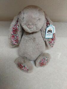 "Jellycat Bunny Rabbit ~ Medium Blossom Posy Bunny Plush Floral 12"" NWT"