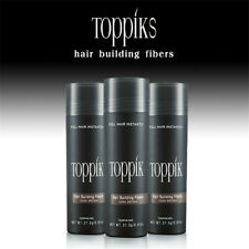 TOPPIK Hair Thickening Fibres 27.5g hair loss Growth instant Building DARK BROWN
