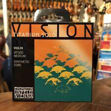 Thomastik Vision TITANIUM SOLO 4/4 Geige Saiten SATZ 4/4 Violin Strings SET