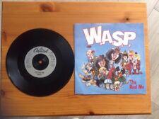 "W.A.S.P.~7""vinyl ""The Real Me/Lake Of Fools"" In Ex.Condition~Heavy Metal Rock"