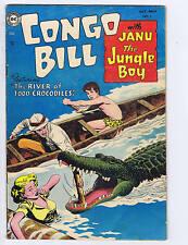 Congo Bill #2 DC Pub. 1954 SCARCE! VERY GOOD -