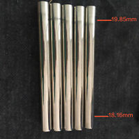 2 pcs New Flute mouthpiece tube unfinished great material