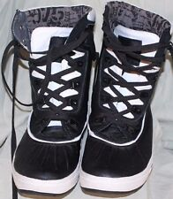JUMP J75   Mens  Fashion Casual  High Top Black Leather  Sneakers sz 10.5
