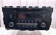 2013-2015 Nissan Altima Aux Stereo CD Player Radio Am Fm OEM PN-3378l