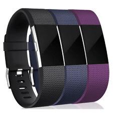 Fitbit Charge 2 kleines Ersatzarmband Uhrenarmband Herzfrequenz Fitness 3Pack DE