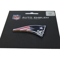 New NFL New England Patriots Auto Car Truck Heavy Duty Metal Color Emblem