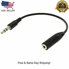 3.5mm Male to 2.5mm Female Stereo Jack Audio Cable Adapter MP3