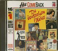Hit come back 4-Die deutschen Oldies (1962-74) Connie Francis, Gitte & Re.. [CD]