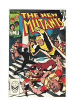 New Mutants #10 VF+ 8.5 Marvel Comics 1983 Bronze Age Chris Claremont, X-Men