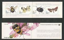 Azoren  Boekje  4 postfris  Insecten